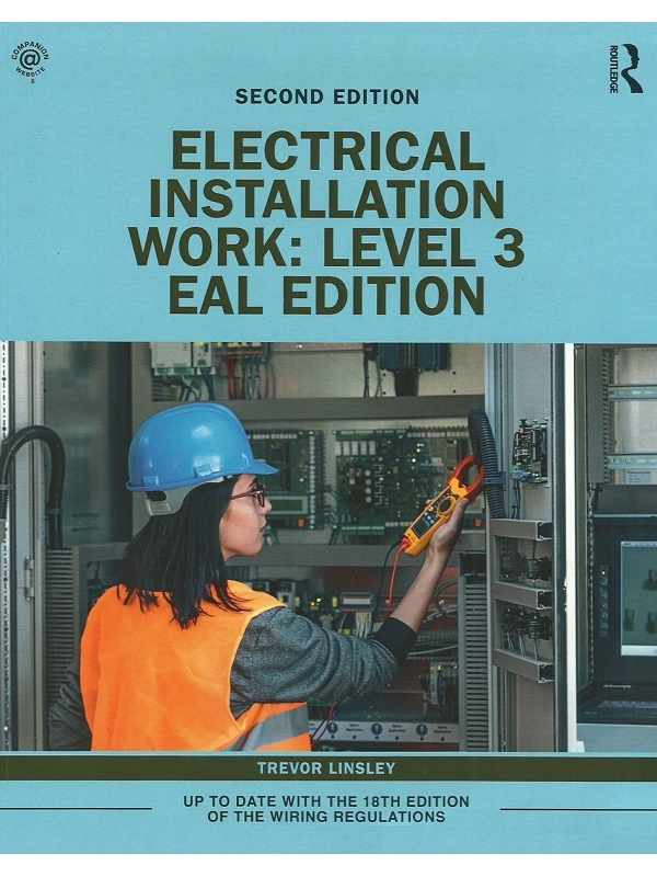 Electrical Installation Work Level 3 EAL 2nd Edition 2020 (PDF)
