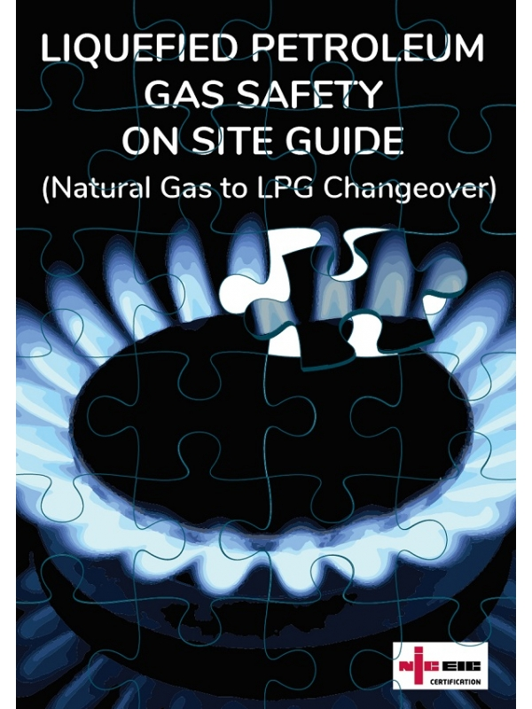 NICEIC Liquefied Petroleum Gas Safety On Site Guide Edition 2020 (PDF)