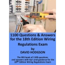 1100 Questions and Answers for the 18th Edition Wiring Regulations Exam (PDF)