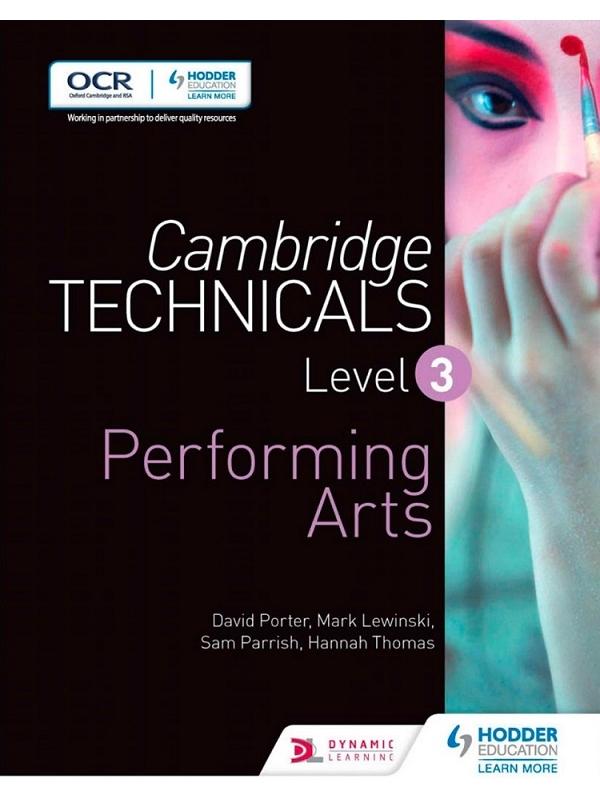 Cambridge Technicals Level 3 Performing Arts (PDF)