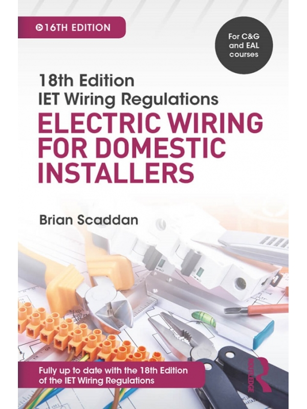 18th Edition IET Electric Wiring for Domestic Installers Edition 2019 (PDF)