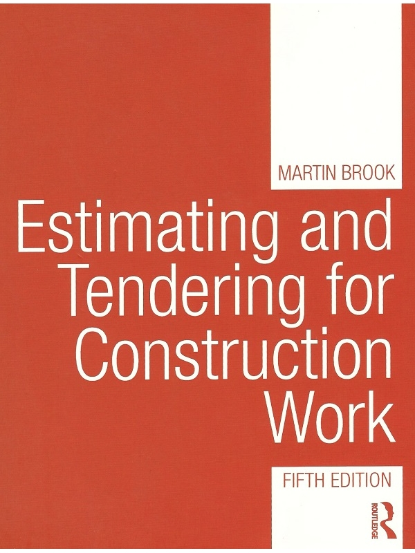 Estimating and Tendering for Construction Work Edition 2017 (PDF)