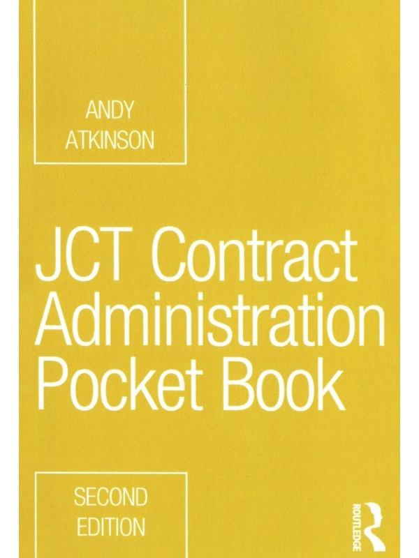 JCT Contract Administration Pocket Book Edition 2021 (PDF)
