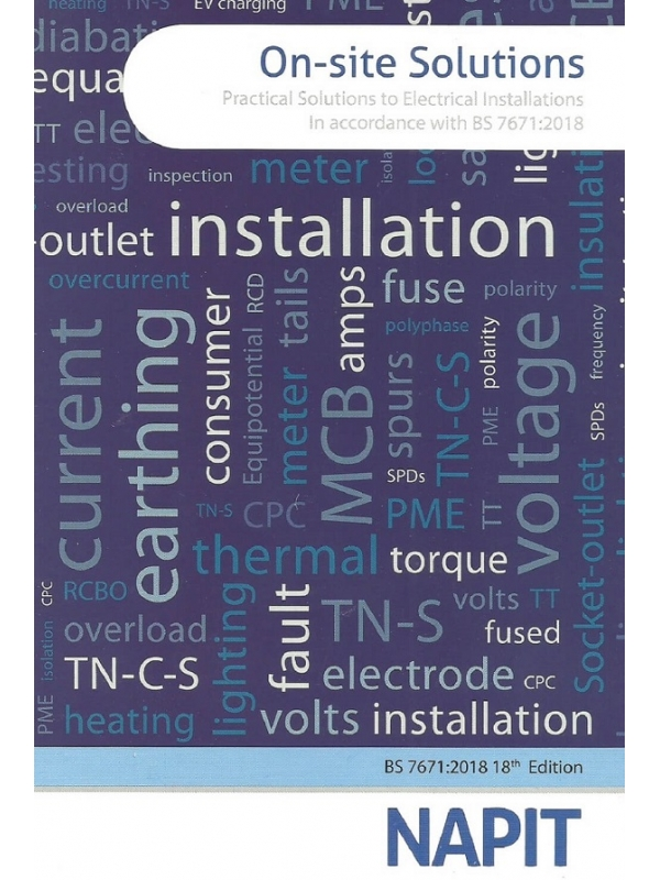 NAPIT On-site Solutions-Practical Solutions to Electrical installations Edition 2019 (PDF)