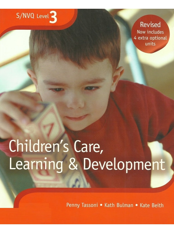 Level 3 S-NVQ Childrens Care, Learning and Development (PDF)